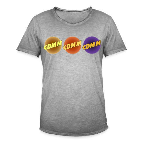 CDMM - T-shirt vintage Homme