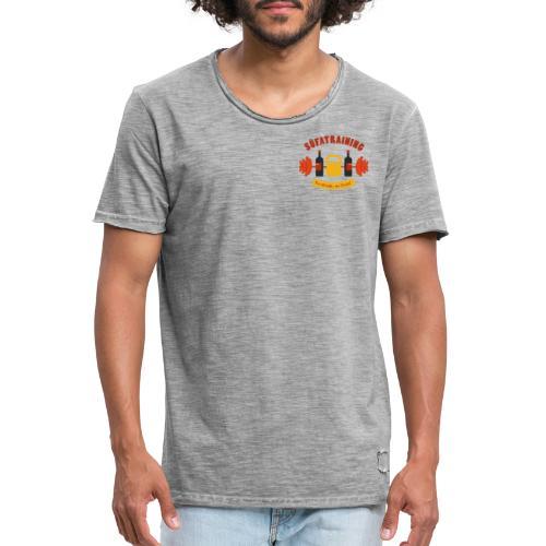 SüfaTraining couleur - T-shirt vintage Homme