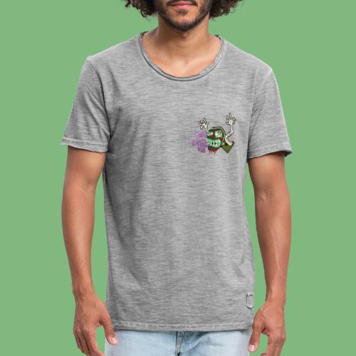 Justo Bolsa - Camiseta vintage hombre