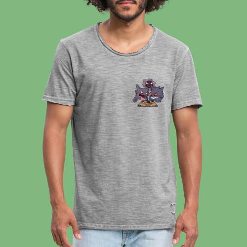 Gastly Haunter y Gengar4 - Camiseta vintage hombre