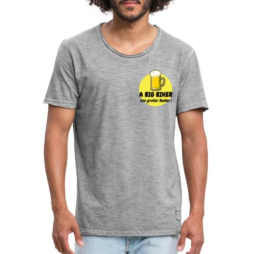 A big biker - Männer Vintage T-Shirt