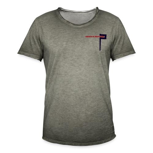 I believe in Jesus!!! - Männer Vintage T-Shirt