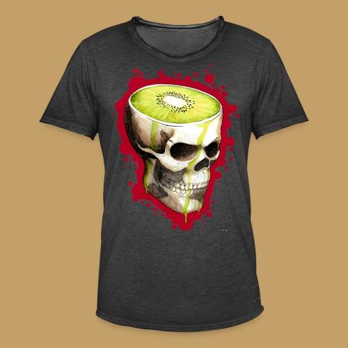 Czacha Kiwi - Koszulka męska vintage