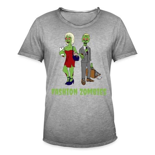 Fashion Zombie - Men's Vintage T-Shirt