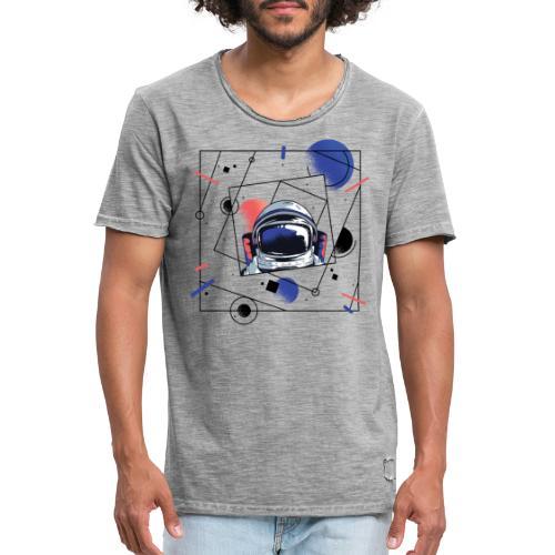 Beste Astronaut Weltraum Designs - Männer Vintage T-Shirt