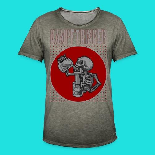 Kampftrinker - Männer Vintage T-Shirt