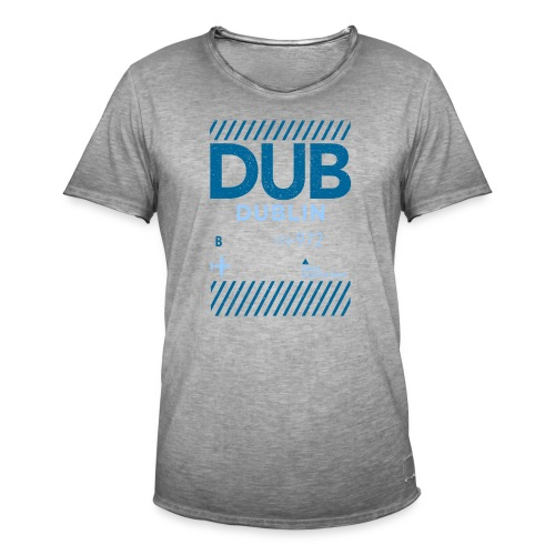Dublin Ireland Travel - Men's Vintage T-Shirt