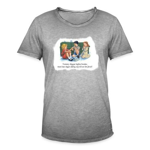 Boi Diggar Tighta Brudar - Vintage-T-shirt herr