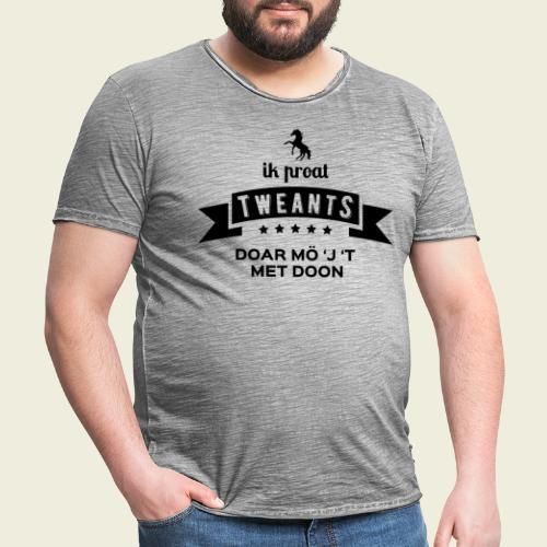 Ik proat Tweants...(donkere tekst) - Mannen Vintage T-shirt
