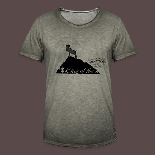 Muflone Halftone - Maglietta vintage da uomo
