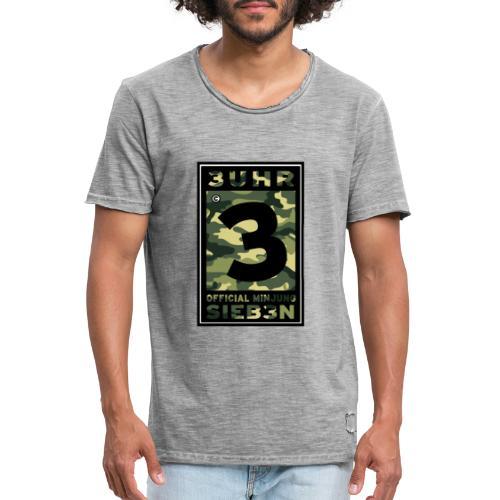 Camou-Dunkel - Männer Vintage T-Shirt