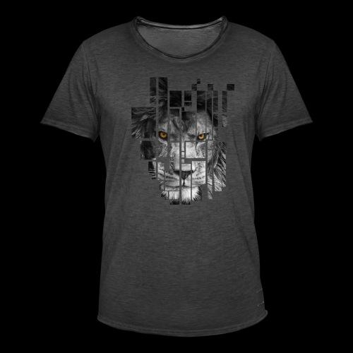 Pixel Lion Tattoo Inspire - Men's Vintage T-Shirt