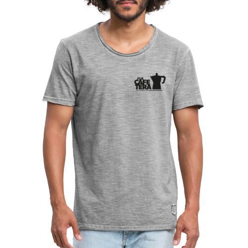logo laCafetera 1 - Camiseta vintage hombre
