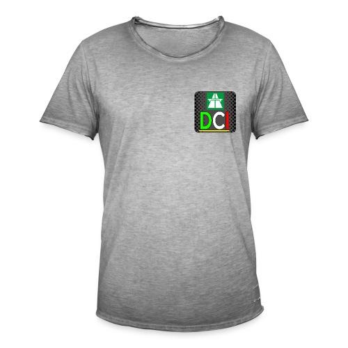 DashCamItalia Style - Maglietta vintage da uomo