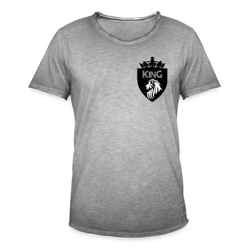 king - Männer Vintage T-Shirt