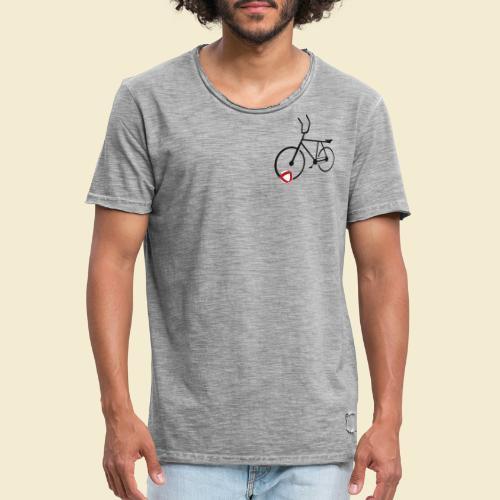 Radball | Cycle Ball Polo black - Männer Vintage T-Shirt