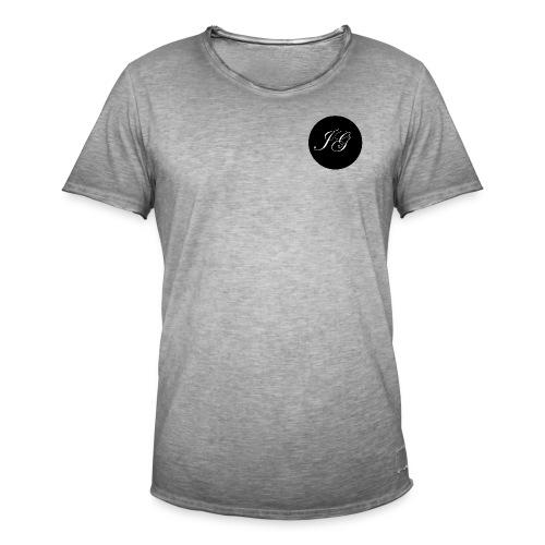 JG Logo Basic - Männer Vintage T-Shirt