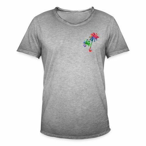 Palme - Männer Vintage T-Shirt