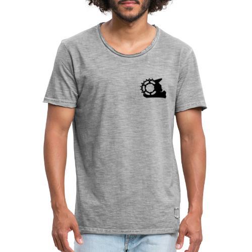 Black White - Combined - Männer Vintage T-Shirt