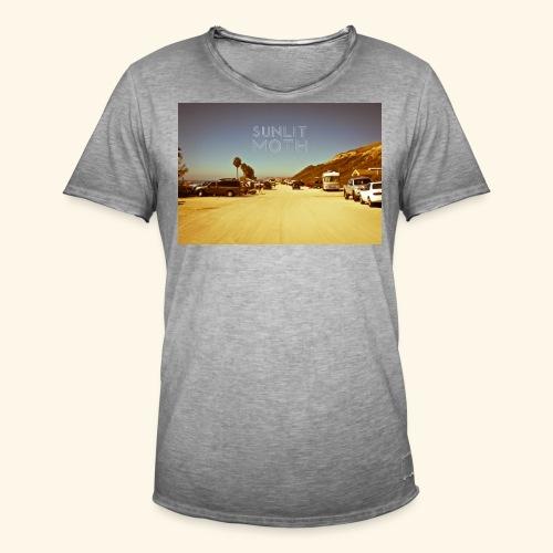 Sunlit moth album cover - Men's Vintage T-Shirt