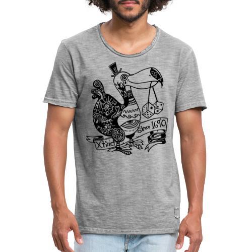 Dronte - Männer Vintage T-Shirt
