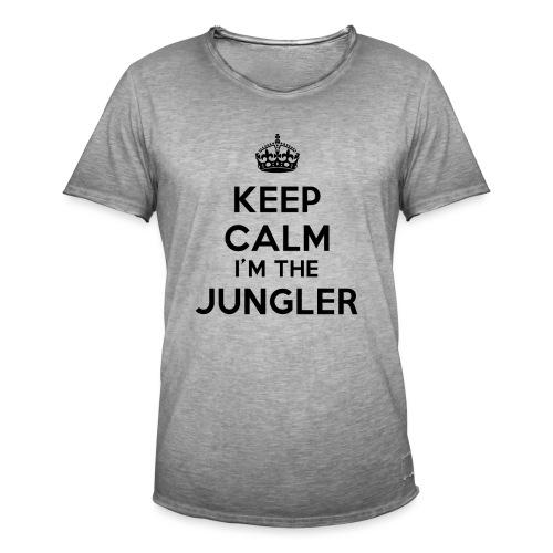 Keep calm I'm the Jungler - T-shirt vintage Homme