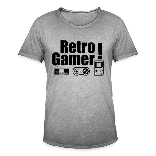 Retro Gamer! - Men's Vintage T-Shirt