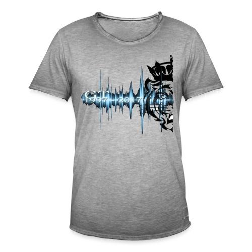 GT soundwave - Vintage-T-skjorte for menn