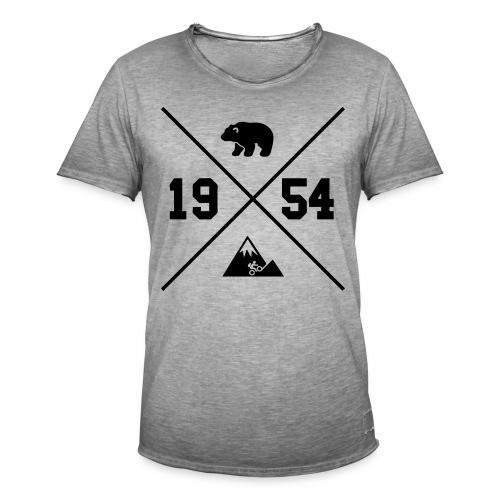 Karhuvuori -baseballhuppari - Miesten vintage t-paita