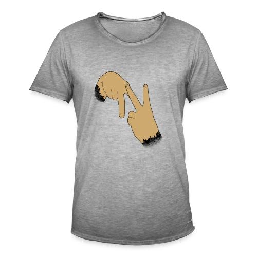 Double N - T-shirt vintage Homme