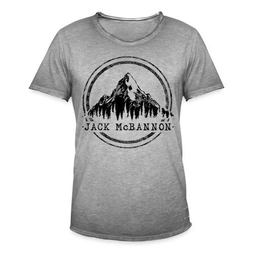 Jack McBannon - Mountain II - Männer Vintage T-Shirt