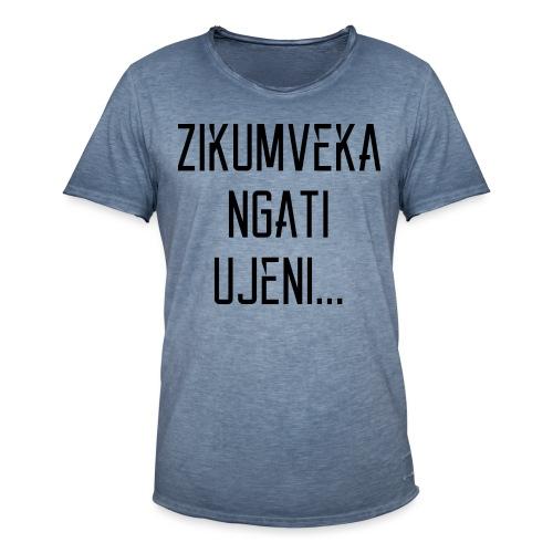 Zikumveka Ngati Black - Men's Vintage T-Shirt