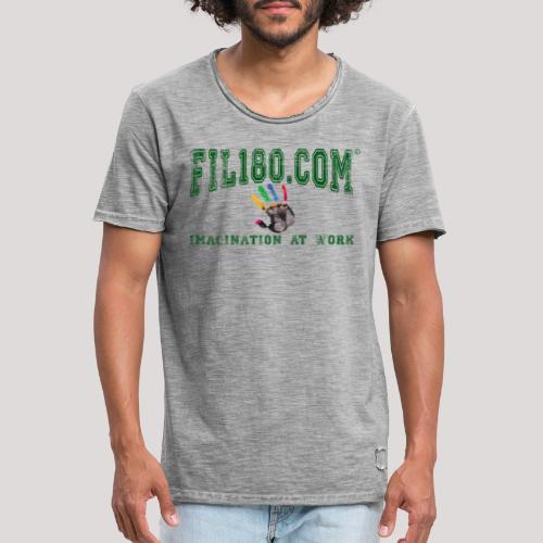 FIL180 HOODY GREEN - Men's Vintage T-Shirt