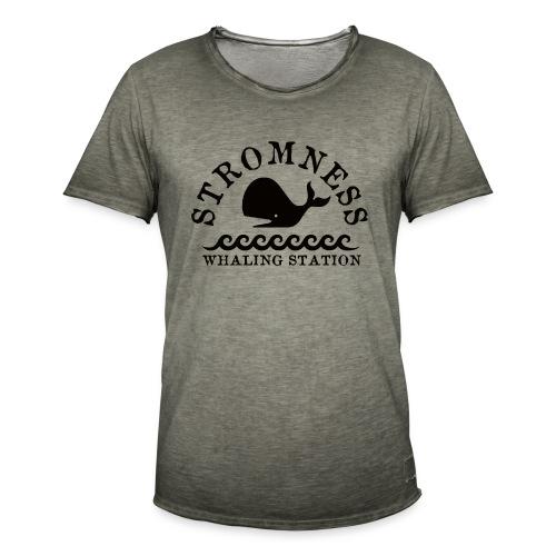 Sromness Whaling Station - Men's Vintage T-Shirt