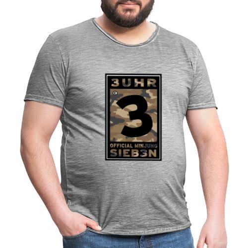 Camou-Hell - Männer Vintage T-Shirt