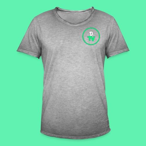 DTV Logo new - Männer Vintage T-Shirt