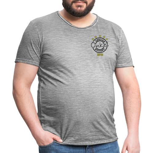 Onkel Endlich Geburt Familie Family family Geschen - Männer Vintage T-Shirt