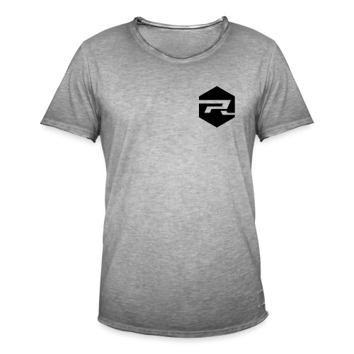 PR Logo Final - Männer Vintage T-Shirt