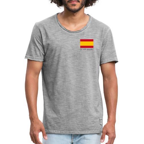 yo soy español - Camiseta vintage hombre