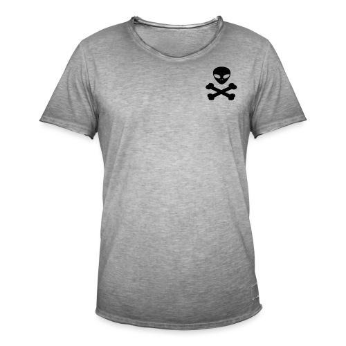 pirata alienígena - Camiseta vintage hombre
