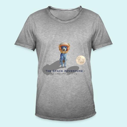 The Space Adventure - Men's Vintage T-Shirt