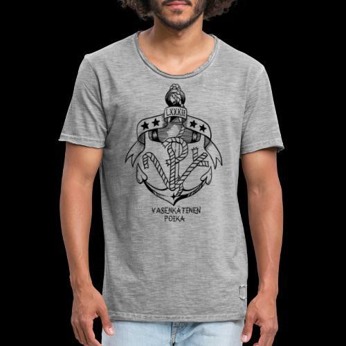 VP Ankkuri - Miesten vintage t-paita