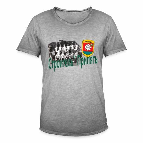 STROITEL 3 - Mannen Vintage T-shirt