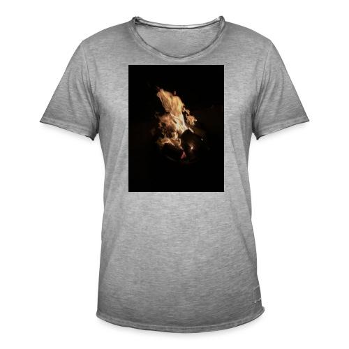 Bonfire Print - Men's Vintage T-Shirt