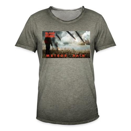 Meteor rain - Maglietta vintage da uomo