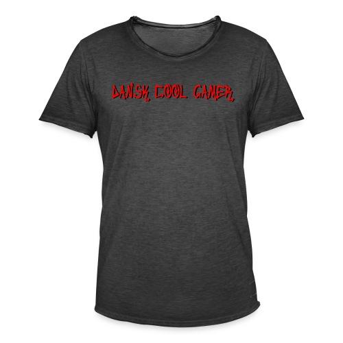 Dansk cool Gamer - Herre vintage T-shirt