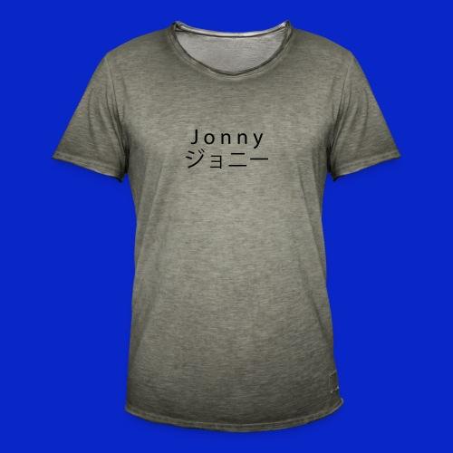 J o n n y (black) - Men's Vintage T-Shirt