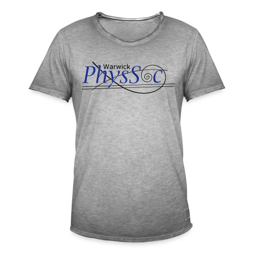 Official Warwick PhysSoc T Shirt - Men's Vintage T-Shirt
