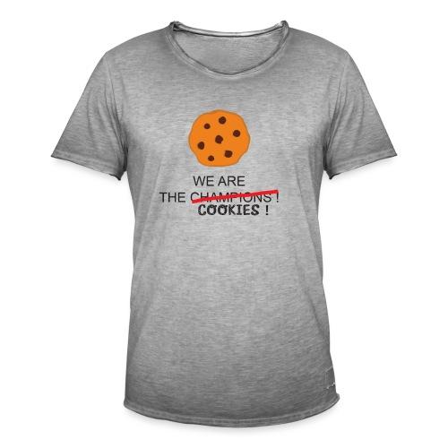 WE ARE THE COOKIES - Maglietta vintage da uomo