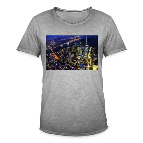 New york - T-shirt vintage Homme